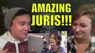 "Juris sings ""Forevermore"" (Side A) LIVE on Wish 107.5 Bus REACTION"