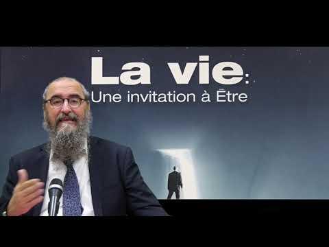 RAV BENCHETRIT - SCHEMA DE L'EXISTENCE