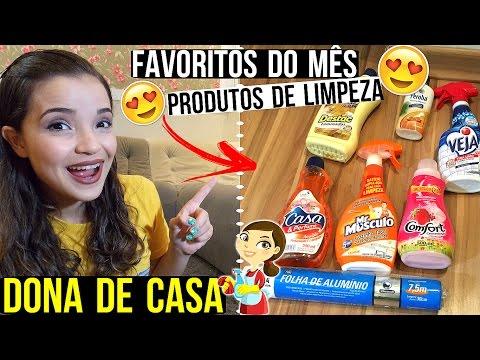 DONA DE CASA | FAVORITOS DO MÊS (PRODUTOS DE LIMPEZA) ♥ - Bruna Paula