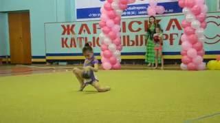 В Актау прошел областной чемпионат по художественной гимнастике