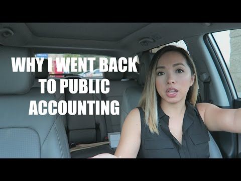 CAR CHAT   Why I Went Back Into & Stayed in Public Accounting   Big 4 ➡ Industry ➡ Mid-Tier Firm