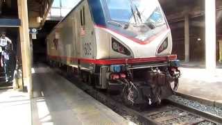Amtrak Train 79 WAS #609 to #115 Power Change with Viewliner II #61034