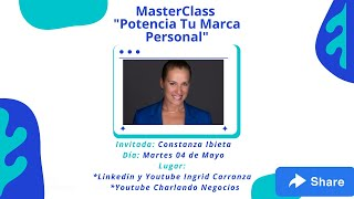 "Marketing con Ingrid presenta: ""Potencia tu Marca Personal"""