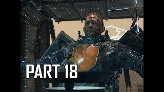 DEATH STRANDING Walkthrough Part 18 (PS4 Pro)
