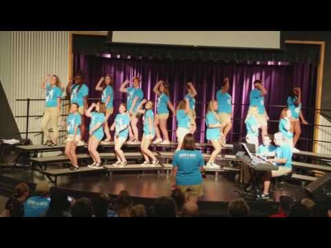 2017 AACPS Music Camp at North Bay - Women's Choir Song 3