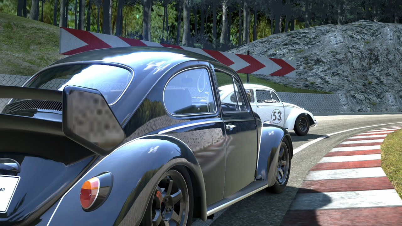 Gran Turismo 8 >> 1ª Corrida - Herbie vs Horace - YouTube