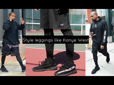 How To Style Leggings Like Kanye West | Vasti Nico