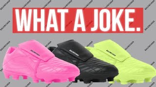 Why the $725 Balenciaga football boots are TRASH