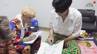 BTS Drawing Skills