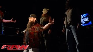 Bray Wyatt gloats after savagely assaulting Chris Jericho: Raw, July 21, 2014
