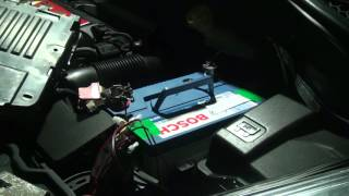 PEUGEOT 207cc Battery Replacement + BOSCH MegaPower CA CA