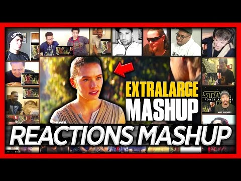 """Honest Trailers - Star Wars: The Force Awakens """"EXTRALARGE"""" Reaction's Mashup"""