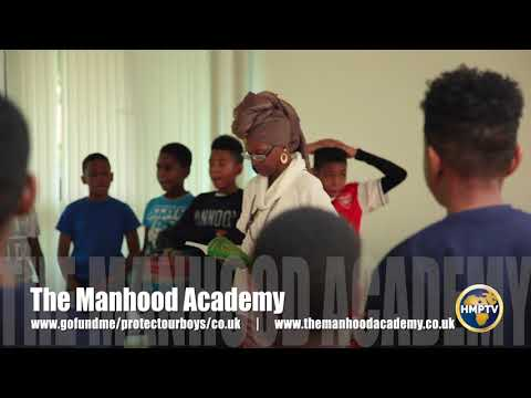 Queen Afua (Holistic Health Practitioner/Author) visits The U.K's Manhood Academy