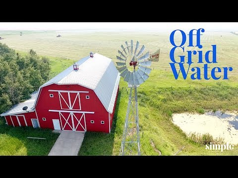 Windmill Update - Off grid water system married to modern technology
