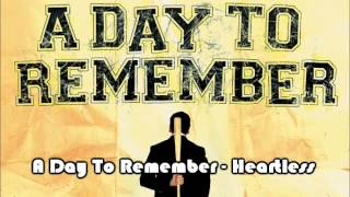 Breakdown Time!: 23.02.2013 (3); A Day To Remember - Heartless