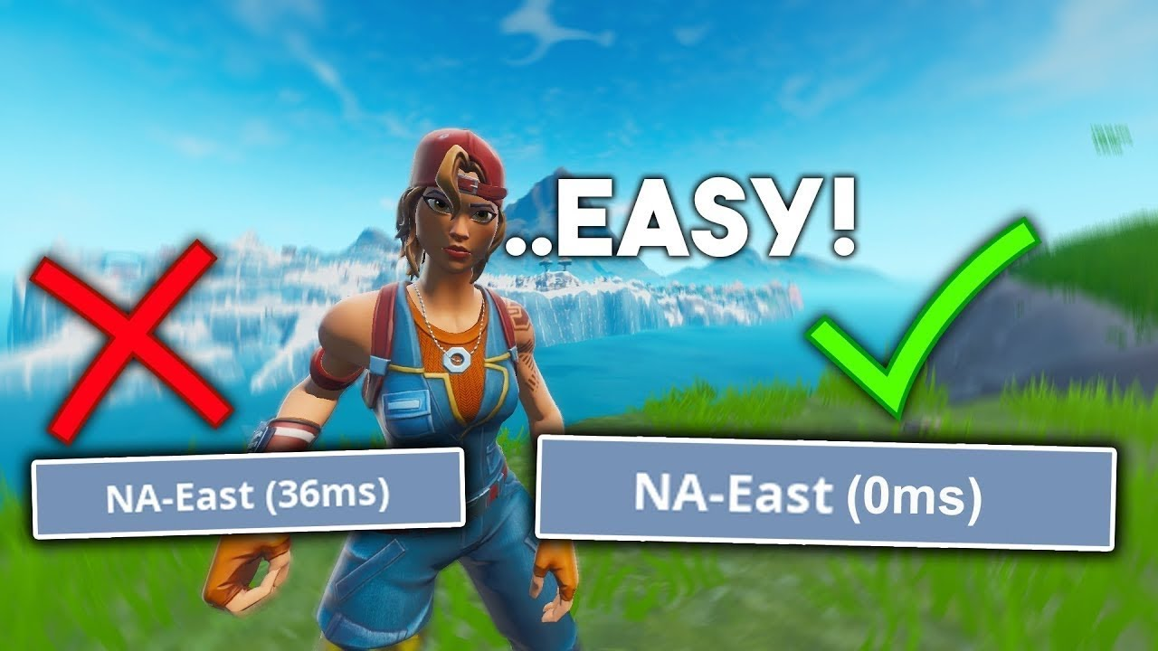 How to LOWER YOUR PING (Get 0-10 Ping) Fortnite Network ...