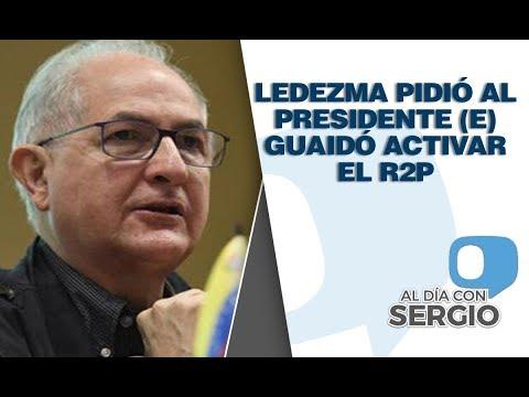Antonio Ledezma: el presidente (E) Guaidó debe invocar el R2P ante crisis venezolana - VPItv