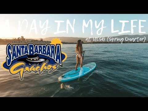 A Day In My Life At UCSB L Spring Quarter