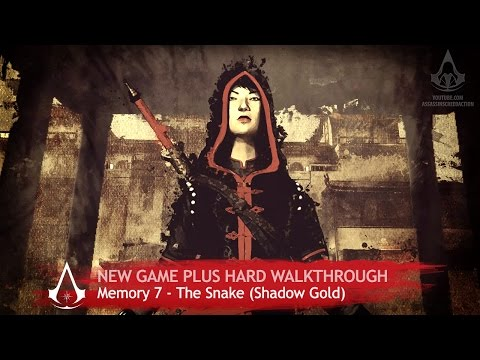 Assassin's Creed Chronicles: China - Sequence 7 - The Snake [+ Hard & Shadow Gold]