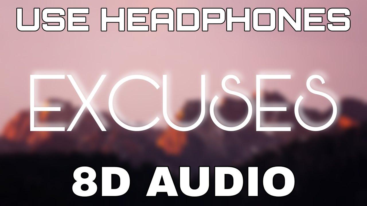 Excuses [8D AUDIO] AP Dhillon   Gurinder Gill   Intense   8D Punjabi Songs 2021