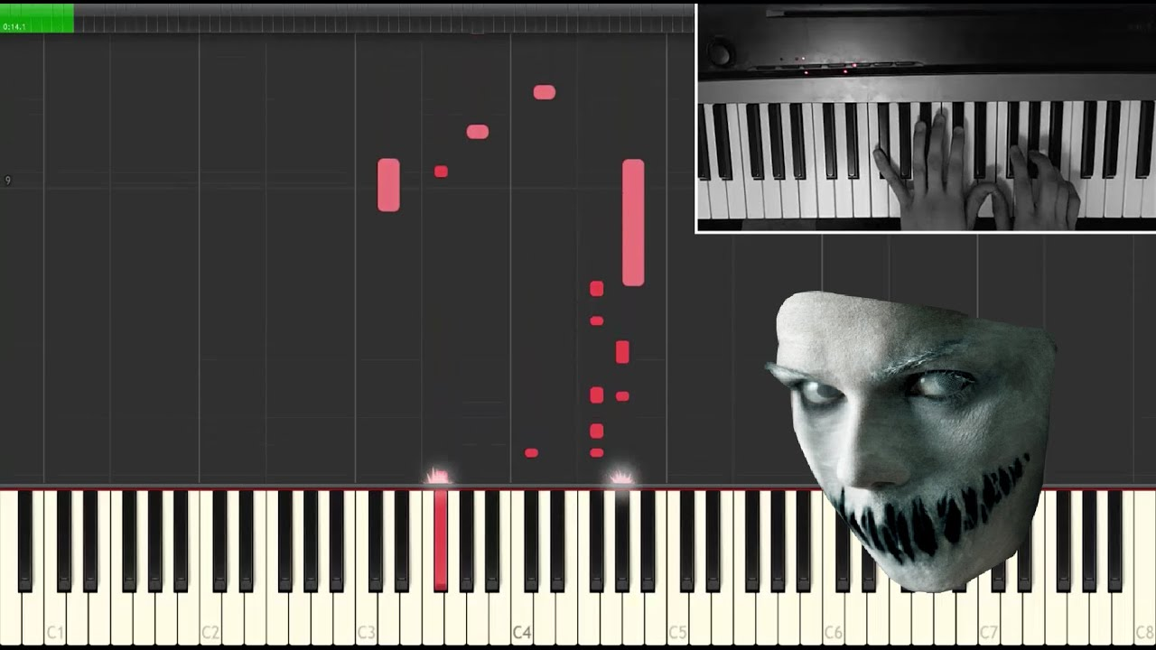 haunted halloween theme piano tutorial how to play piano online easy jacob price