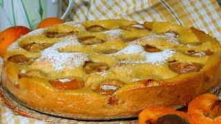 ВКУСНЫЙ пирог с абрикосами рецепт
