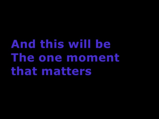 ok-go-the-one-moment-lyrics-luke