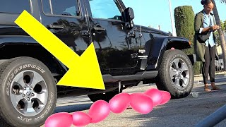 BEST Bad Parking Prank (POPPING BALLOONS SCARE!) - FEMALE MAGIC COMPILATION 2019