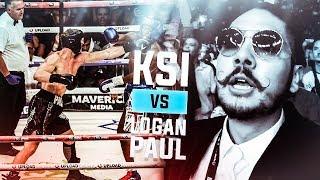 RINGSIDE at KSI vs Logan Paul FIGHT! *EXCLUSIVE FOOTAGE*