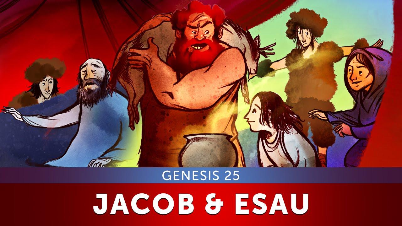 Jacob and Esau - Genesis 25 | Bible Story and Sunday School Lesson for kids  | Sharefaithkids com
