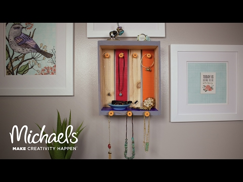 DIY Home Decor Jewelry Crate | Michaels