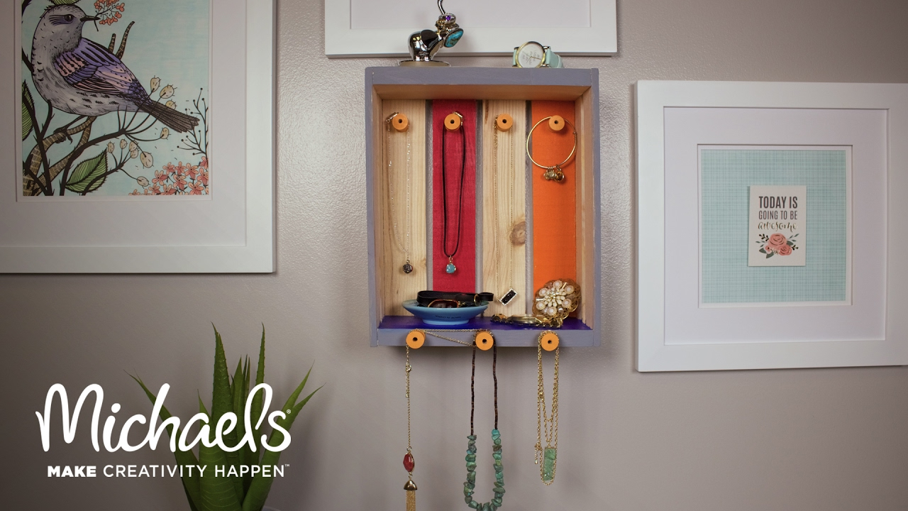 Diy Home Decor Jewelry Crate Michaels