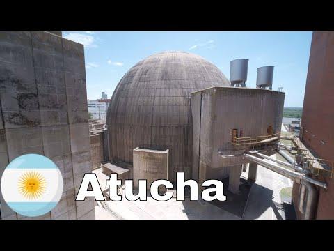 Recorriendo Central Nuclear Argentina Atucha