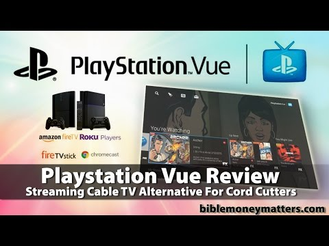 Sony Playstation Vue Review: Streaming Cable TV Alternative For Cord Cutters