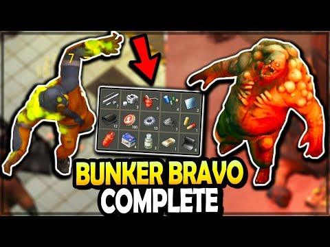Bunker Bravo COMPLETED (ALL FLOORS, BOSSES, And LOOT) - Last Day On Earth Survival Season 3