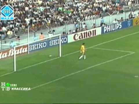 Бельгия — СССР 4:3. ЧМ 1986, 1/8 финала