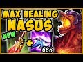 ONE Q = FULL HEALTH? WTF! DEATH'S DANCE NASUS IS 100% BUSTED! NASUS TOP SEASON 9!  League of Legends
