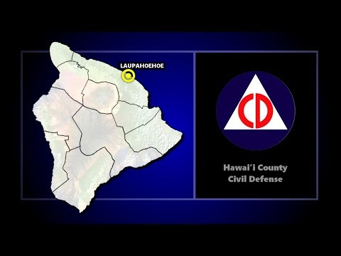 Civil Defense: Truck Fire Closes Highway 19 At Laupahoehoe (Apr. 18, 2018)