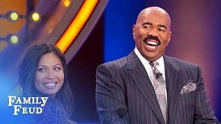 I like my lover to BITE my... | Family Feud