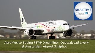 AEROMEXICO BOEING 787-9 DREAMLINER 'QUETZALCOATL LIVERY' REVIEW