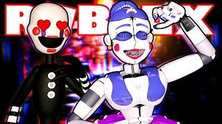 PUPPET LOVES BALLORA?! Roblox FNAF Roleplay