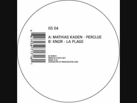 MATHIAS KADEN - PERCLUE