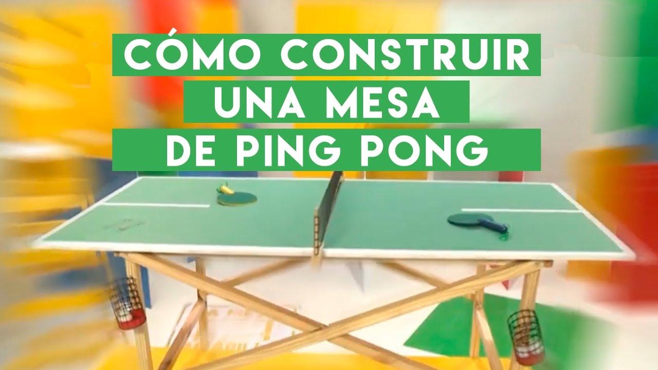 رسام سريعون الإبهام Tablero Mesa De Ping Pong Ballermann 6 Org