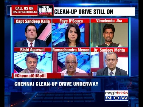 Chennai Oil spill: No protective gear for workers – The Urban Debate (07th February)