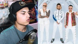Reaccion Wisin & Yandel, Maluma - La Luz    Themaxready