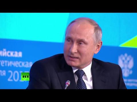 Discours de Vladimir Poutine à la Semaine de l'Energie