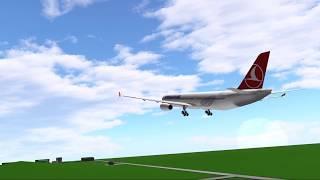 Roblox Plane Spotting at FLIGHTLIN3D Beta 1