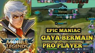 Epic Maniac Alucard by Fredo - Mobile Legends