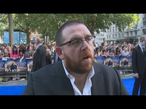 The World's End: Nick Frost talks about the film, drinking pints, hangovers and pub crawls