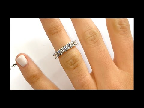 tw diamond ct brilliant band anniversary white ring earth bands wedding carat top platinum eternity
